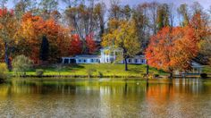 It's only fitting that A Georgian Manor has an equally grand property: namely, a waterfront parcel overlooking Lake Logan, adjacent to Hocking Hills State Park. Book your stay in early October, when colors hit fever pitch, for optimal leaf peeping.