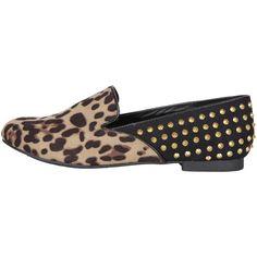 Mimi Loves Jimi Albert Half Studded Loafer found on Polyvore