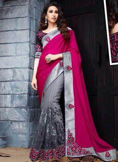 karishma-kapoor-grey-and-magenta-half-n-half-reception-wear-saree-800x1100-800x1100