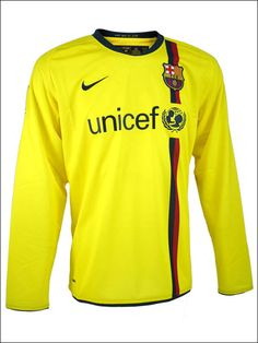 FC Barcelona Long Sleeve Away Jersey  This will be mine one day soon.