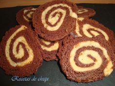 Espirales bicolor de chispi