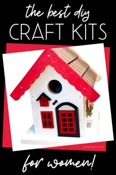 Adult craft kits for women for art therapy to relieve stress and anxiety. Get creative, learn a new skill and enjoy hours of fun with the best adult craft kits for women. Discover my favorite adult craft kits subscription box for women to inspire and challenge you to explore something new, while also offering an enjoyable way to relax and forgot about your troubles. These easy craft kits for adults are suited for all skill levels and are the perfect way to discover a new hobby. #adultcrafts