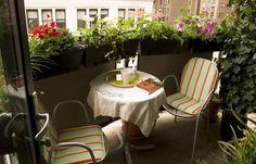 outdoor home decor and ideas for small balcony designs !!! VIRÁGLÁDA A RÁCS TETEJÉN, ÍGY MAGASÍT