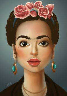 Frida by natsoaress on deviantART