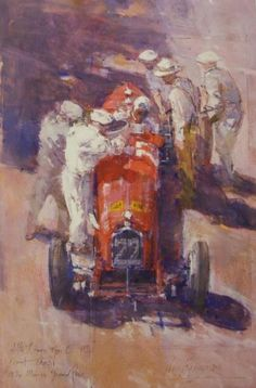 Alfa Romeo Type Bp3, Count Trossi, 1934 Monaco Grand Prix   John Noott Galleries