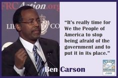 A.M.E.N.! Love Dr. Ben Carson!! Dr.Martin Luther King should have been first BLACK President,, sorry,, but I am not an Obama fan for various reasons, However Dr. Ben Carson is the closest to the legacy MLK left., higher standards for human life. I hope the states will vote for him!!