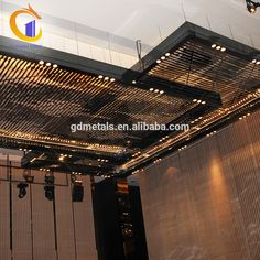 Low Cost Luxury Restaurant Stainless Steel Hanging Decors Plafond Indoor Decorative Panel Metal Decoration Ceiling