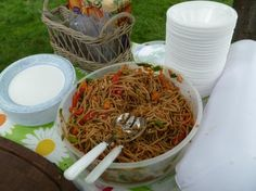 Asian Noodle Salad. Photo by Cathy17