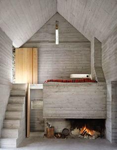 Rustic Swiss Structure Hides Modern Underground Home by Bründler Architekten