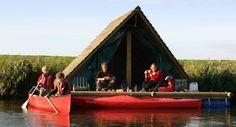Camping on water in Belgium