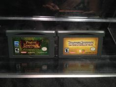 Lot of 2 Pirates of the Caribbean Nintendo Game Boy Advance Games-DS & DS Lite.