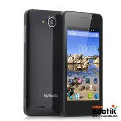 "Budget 4 Inch Android Phone ""MySaga C1"" - 1.3GHz Dual Core CPU, Bluetooth, GPS, Dual Camera (Black) #androidphone"