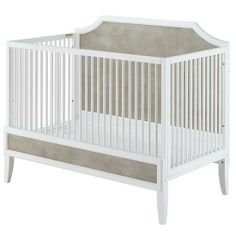 ducduc™ for Nod: Verona Crib in ducduc™ for Nod: Verona Collection | The Land of Nod in Weathered Grey