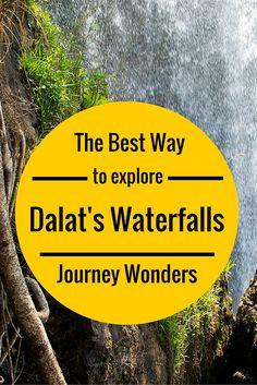 The best ways to explore Dalat waterfalls
