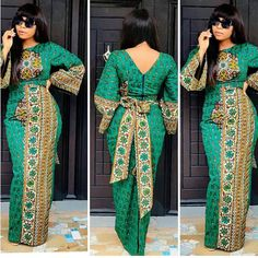 2019 Ankara Long Gown Styles for Special Events - Naija's Daily Long African Dresses, Ankara Long Gown Styles, African Print Dresses, Ankara Gowns, African Fashion Ankara, Latest African Fashion Dresses, African Print Fashion, African Style, African Ankara Styles