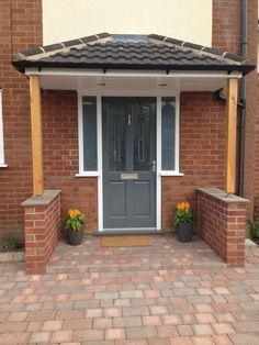 Timber Front Door Canopy Porch Hand Made Porch In . Porches And Canopies Uk The Cherwell Overdoor Canopy The . Home and Family Front Door Canopy Uk, Front Door Canopy Designs, Door Canopy Modern, Door Canopy Porch, Front Door Porch, Grey Front Doors, Modern Front Door, Porch Roof, Front Hallway