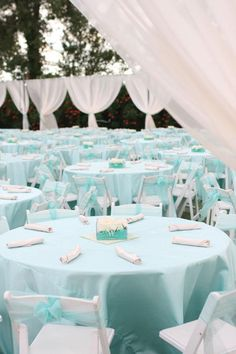 #Tiffany Blue Wedding ... Wedding ideas for brides & bridesmaids, grooms & groomsmen, parents & planners ... https://itunes.apple.com/us/app/the-gold-wedding-planner/id498112599?ls=1=8 … plus how to organise an entire wedding, without overspending ♥ The Gold Wedding Planner iPhone App ♥