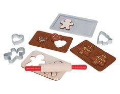 Maak je eigen houten speelgoed gingerbread. Dat wordt smullen!