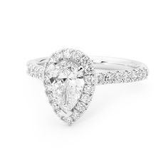 Divine Pear Diamond available at W.J. Coote & Sons wjcoote.com