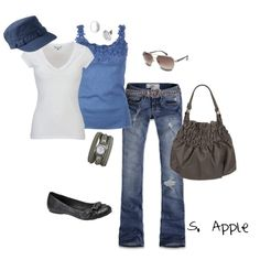 """The Blues..."" by sapple324 on Polyvore"