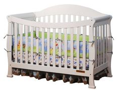 This sturdily constructed convertible crib includes a toddler rail for easy conversion to a toddler bed. The sleek silhouette is sure to complement any décor scheme and looks elegant combined with carefully curated nursery furnishings. Crib Sets, Convertible Crib, Baby Furniture, Solid Pine, Baby Cribs, Nursery Decor, Toddler Bed, Home Decor, Espresso