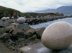 the granite eggs of Djupivogur, Iceland DRAGON EGGS