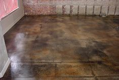 Stains love this and home on pinterest for How to remove wax from stained concrete floors