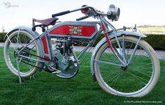 #1913 Excelsior Model 4C IOE Single Vintage #Motorcycle