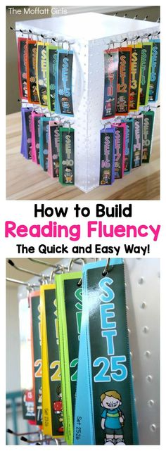 How to Build Reading Fluency, the Quick and Easy Way!  These fluency strips include 1,440 simple sentence strips that provide a genuine opportunity to practice fluency for beginning and/or struggling readers!