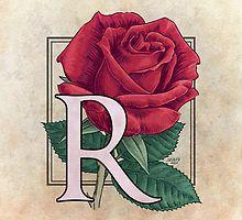 R is for Rose par Stephanie Smith