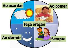 Resultado de imagem para oração lição infantil
