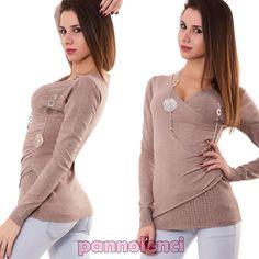 Pullover-donna-maglione-maglia-strass-maniche-lunghe-portafoglio-nuovo-866-3