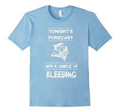 Sharknado Shark forecast with a chance of bleeding T-shirt