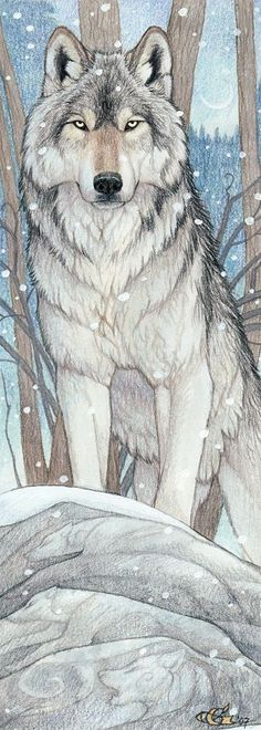 "Spirit Totem Animals:  ""Spirit of the Wolf,"" by Goldenwolf, at deviantART.:"
