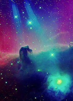 #horse head #nebula. #space #astronomy