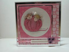 House Mouse Mothers Day Card by CShellCards on Etsy, £3.00