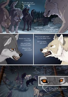 Off-White page 33 by akreon Anime Wolf, Off White Comic, Wolves Fighting, Wolf Poses, Transformers, Wild Animal Wallpaper, Wolf Comics, Fantasy Wolf, Pokemon