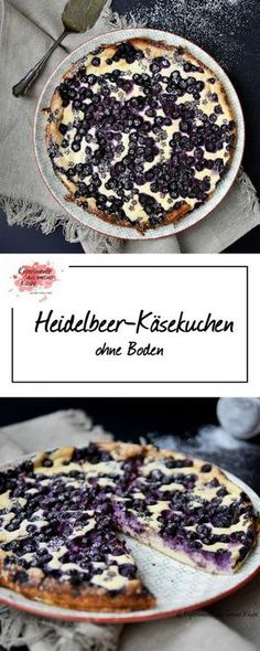 Heidelbeer-Käsekuchen | Backen | Rezept | Weight Watchers