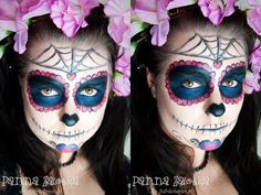 makijaż na Halloween: Sugar Skull - Halloween makeup