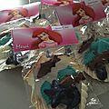 Un petit cadeau: invitation et toppers Ariel fabriqué maison!!   Mermaid party: printables