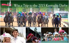 I just entered to win a trip to the Kentucky Derby!