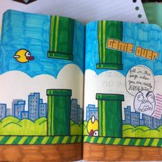 "make-this-book-finished: "" Who's playing flappy bird? """