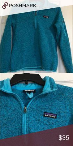 Patagonia Fleece Quarter ZIP Better Sweater Fleece Excellent used condition. No flaws. Patagonia Tops
