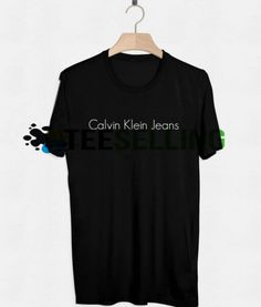 Calvein Klein Jeans T-SHIRT UNISEX Price: 15.50 #tshirt Funny Shirt Sayings, Shirts With Sayings, Funny Shirts, Cute Graphic Tees, Graphic Shirts, Calvin Klein Jeans, Workout Shirts, How To Look Better, Short Sleeve Dresses