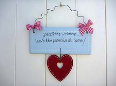 grandkids welcome... leave the parents at home!