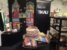 TIKAU shop-in-shop at Design Forum Finland, Helsinki. 2012.