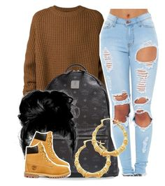 """""""House Party-Nini"""" by newtrillvibes ❤ liked on Polyvore featuring Haider Ackermann, MCM, Timberland, women's clothing, women, female, woman, misses and juniors"""