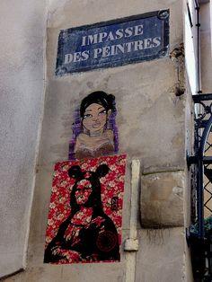 LadySonP meets Ozi in Paris