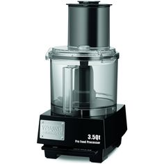 Waring Commercial Food Processor Stainless Steel Design