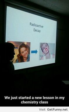We just started a new lesson in my chemistry class